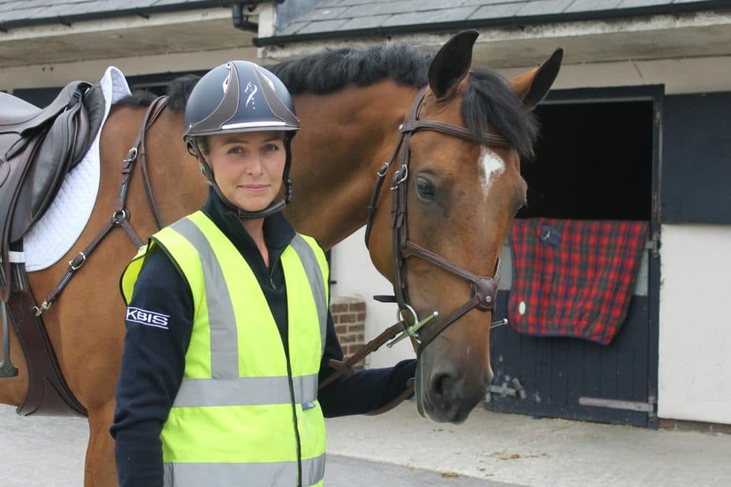 Georgie ready for a hack