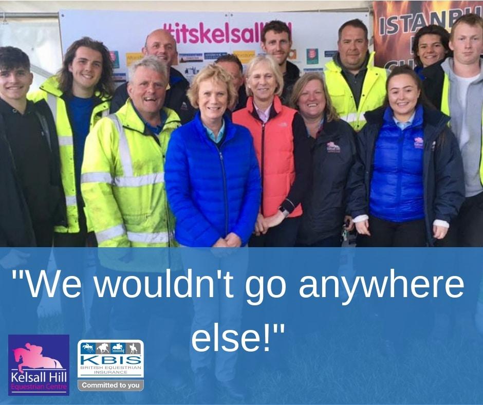 Kelsall Hill Team